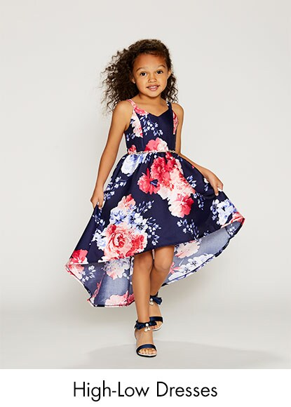 0f96503ccbba Girl's high-low dresses