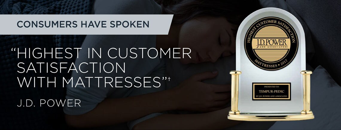 Tempur-Pedic Mattress Information | Highest in Customer Satisfaction with Mattresses: J.D. Power