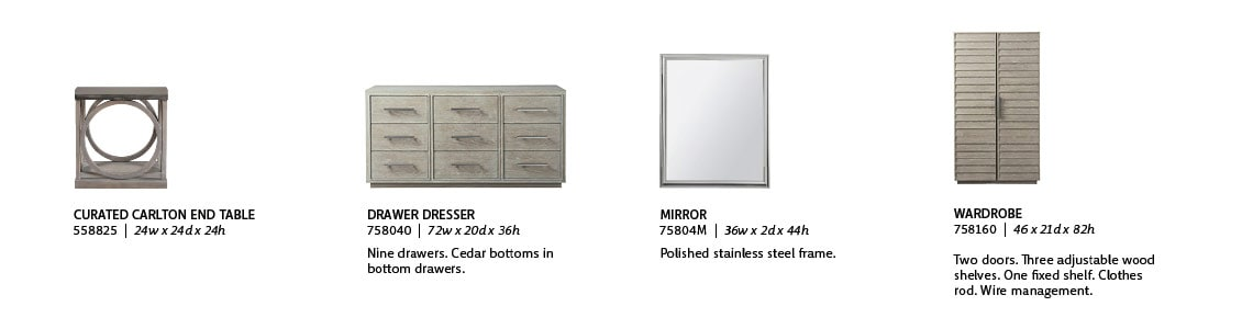 Universal Furniture Product Information