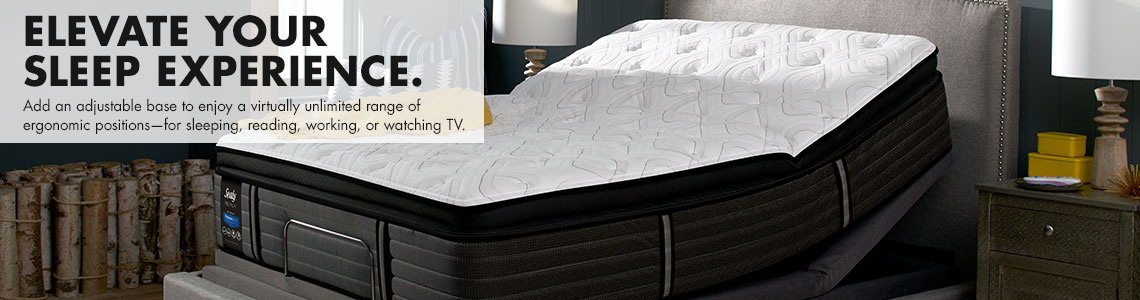 Sealy Matress Information | Elevate Your Sleep Experience With An Adjustable Base