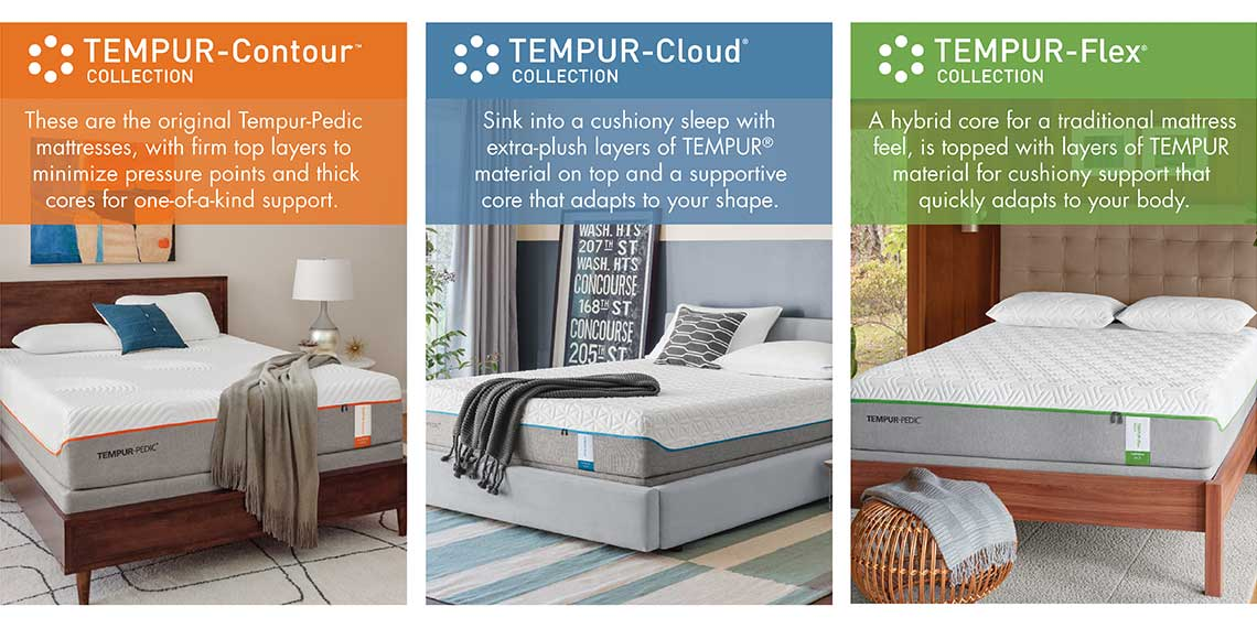 Tempur Pedic Contour Cloud And Flex