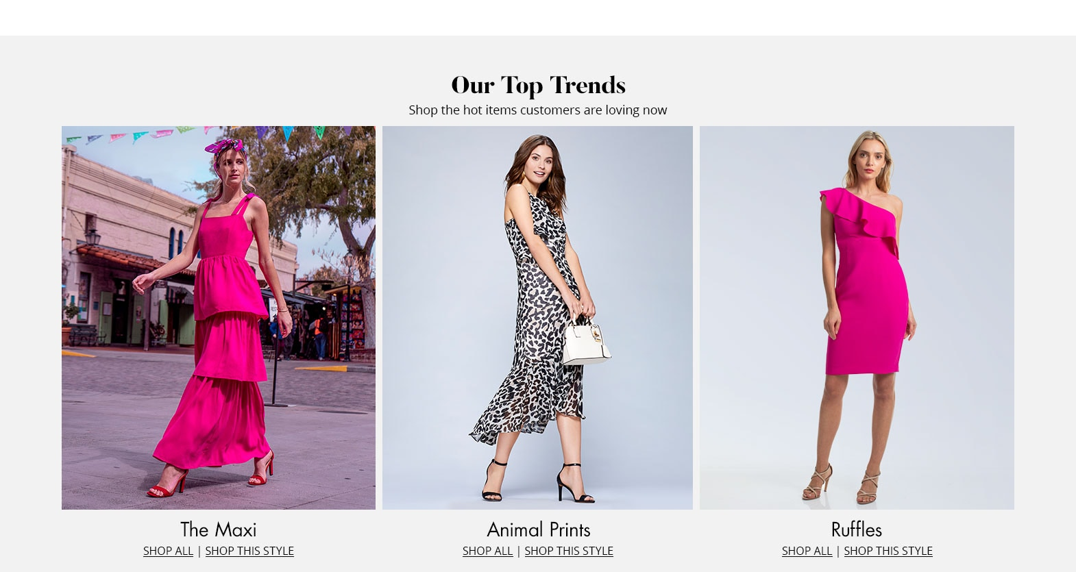 Shop the top trends on Dillards.com