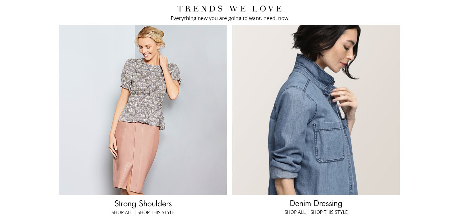 Shop these women's trends at Dillards.com