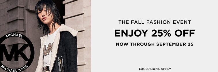 25% Off Michael Kors Fall Event