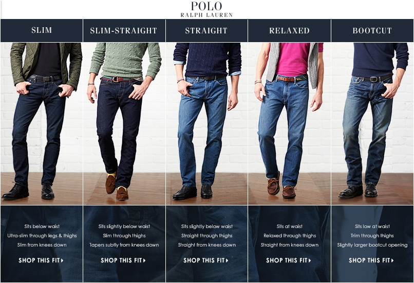 Polo Jeans Fit Guide Dillard S