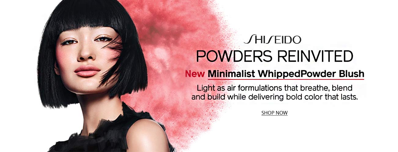 Shiseido powder blush creative image