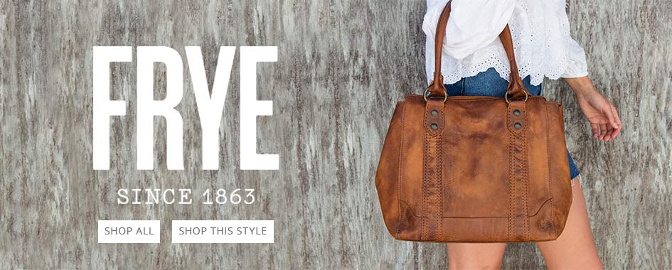 Frye Boots, Handbags, and More