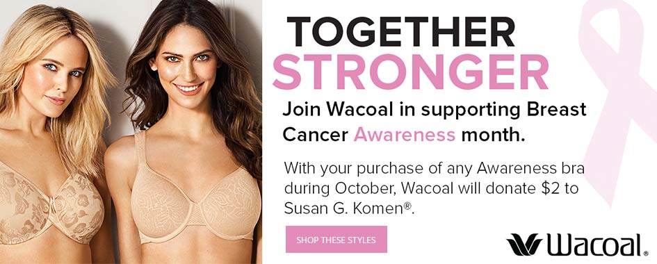 Wacoal awareness bras creative image
