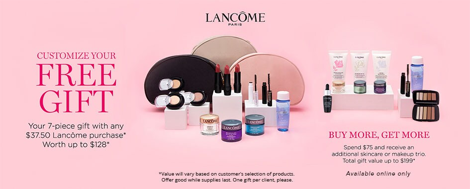 Lancome GWP promotional image