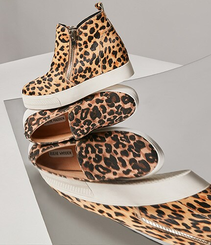 The Edit - animal platform shoes
