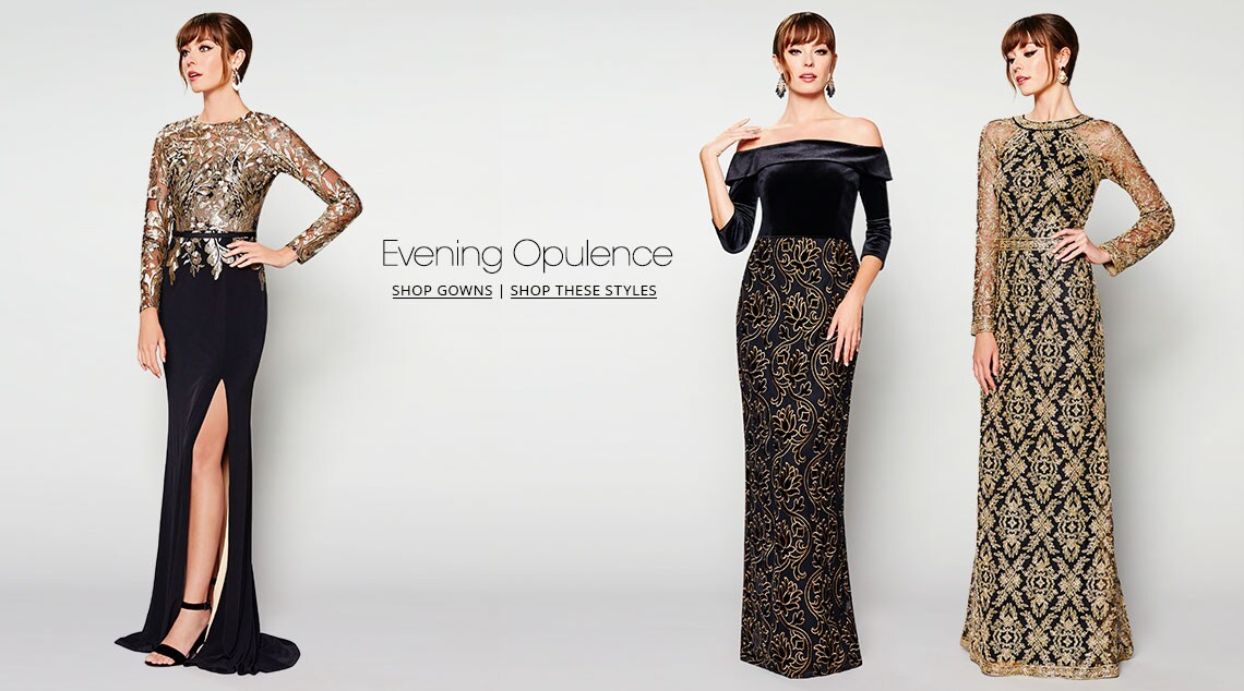 Evening Opulence - Shop Evening Gowns