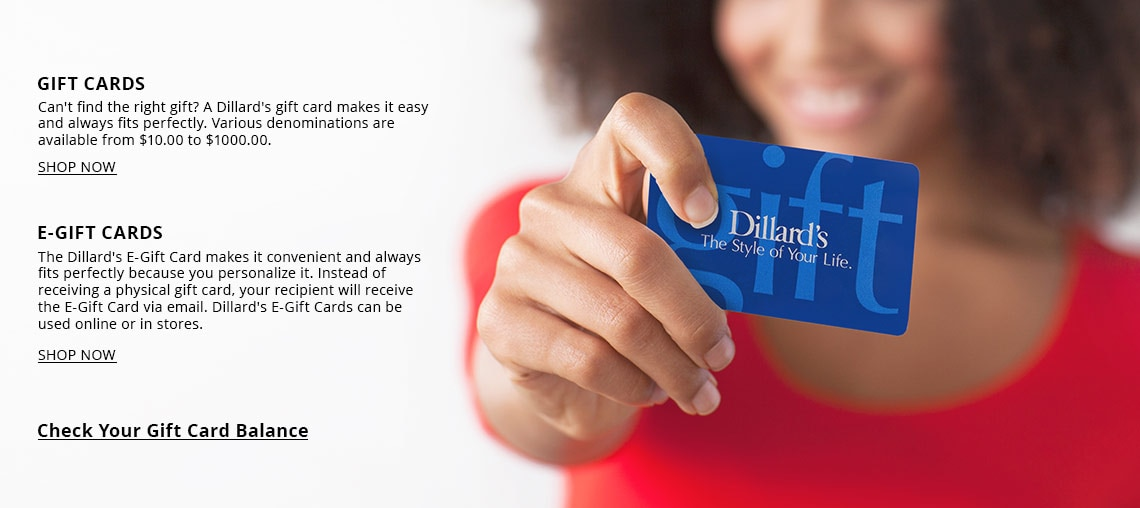 Gift cards dillards dillards gift cards negle Image collections