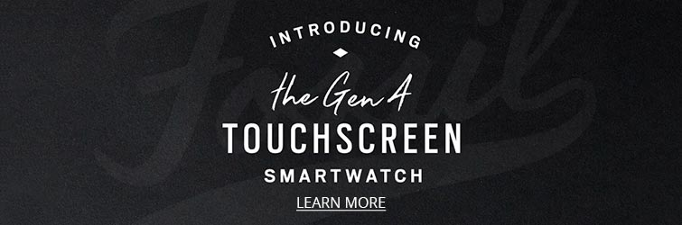Learn more about the Fossil Q touchscreen smartwatch