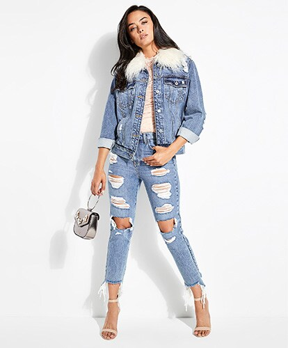 Shop All Distressed Jeans