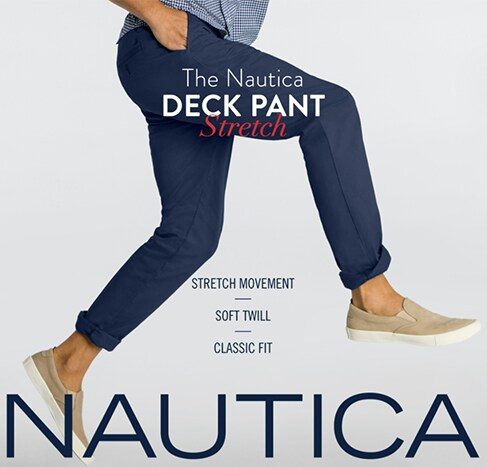 Nautica Deck Pant Stretch