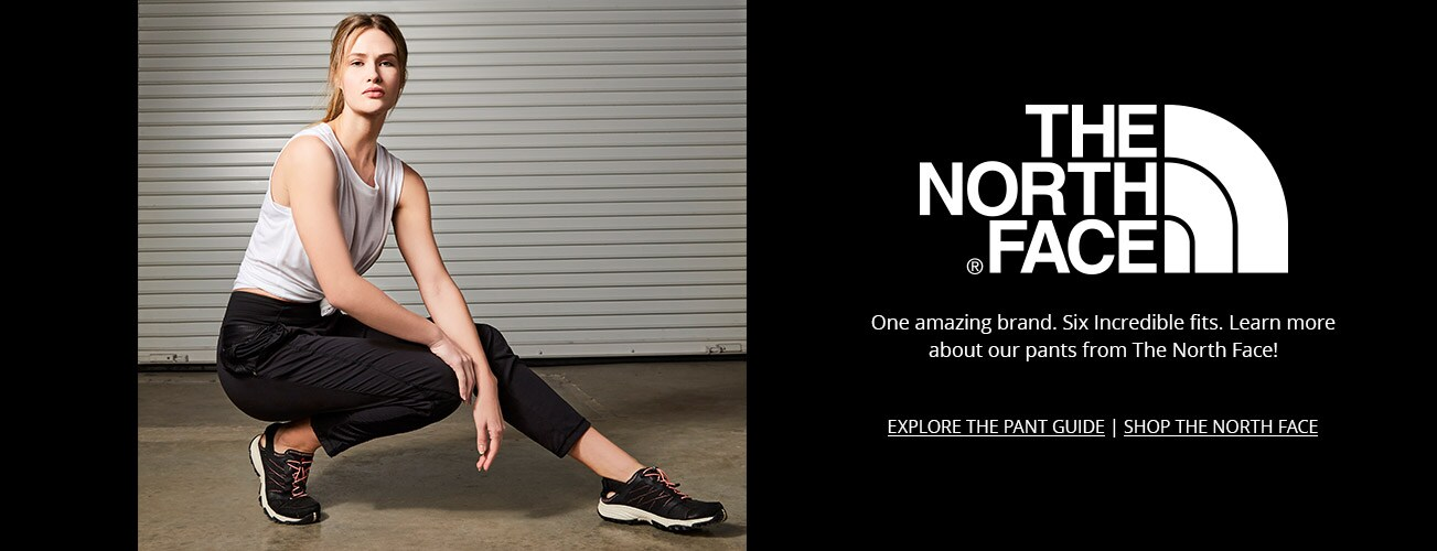 The North Face - One amazing brand. Six incredible fits. Learn more about workout pants from The North Face.