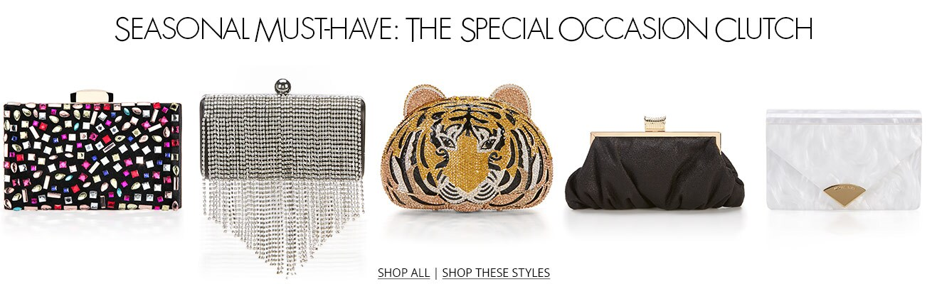Special Occasion Clutches
