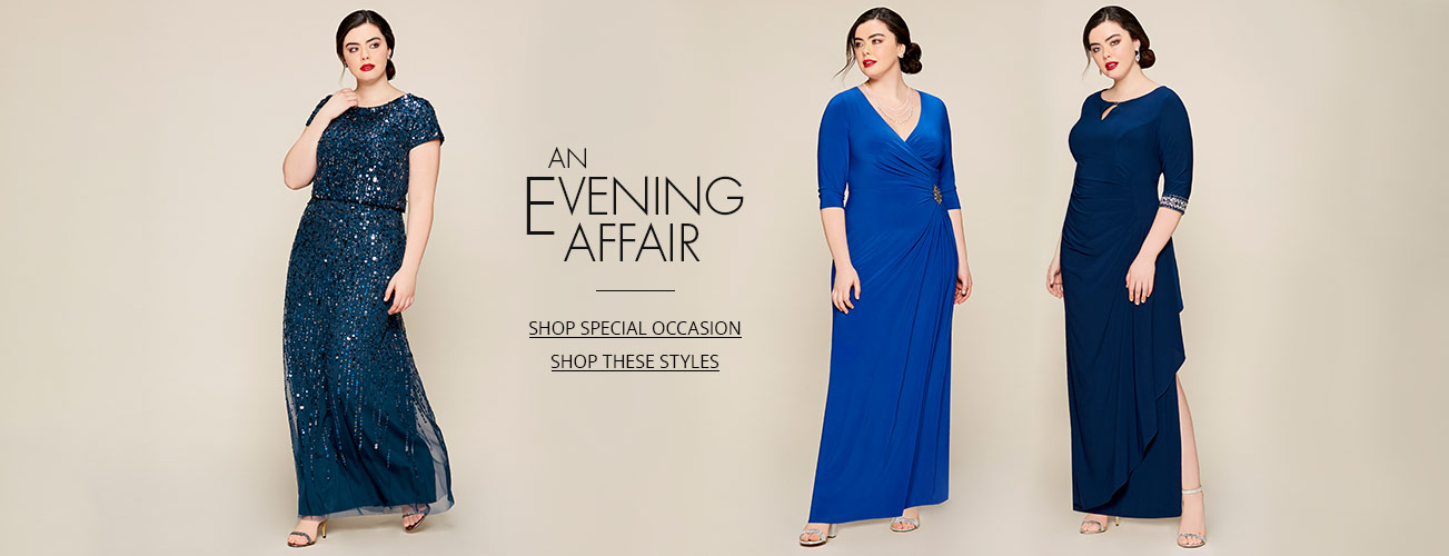 Women S Plus Size Dresses Gowns Dillard S