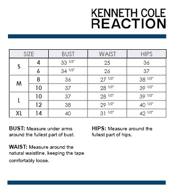 Image Result For Kenneth Cole Reaction Men S Size Chart
